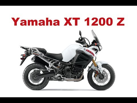 The Best Adventure Motorcycles - Yamaha XT 1200 Super Tenere 2017 - Test Ride & Review