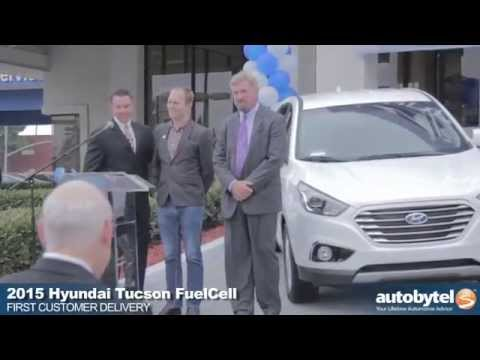 Hyundai delivers first hydrogen powered Tucson FuelCell