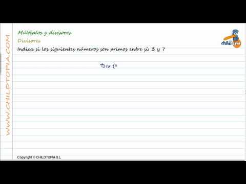 Vídeos Educativos.,Vídeos:Múltiplos y Divisores 6