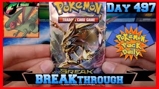 Pokemon Pack Daily BREAKthrough Booster Opening Day 497 - Featuring Flygon by ThePokeCapital