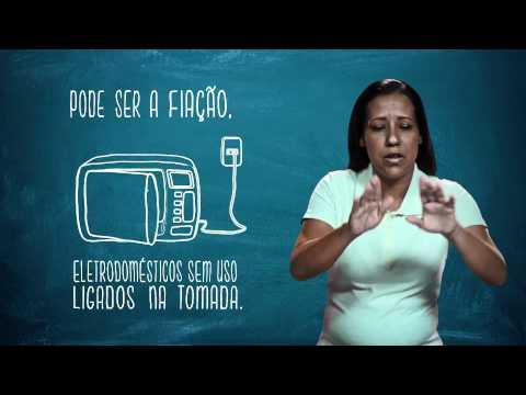 Campanha de Uso Racional de Energia - Libras - Checagem de Consumo - Eletrobras Distribuição Rondônia