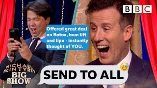 Video FULL CLIP Strictly's Anton AGHAST as Michael McIntyre PRANK body shames his contacts💃😝 - Send To All MP3, 3GP, MP4, WEBM, AVI, FLV Desember 2018