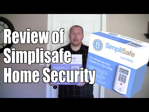 Review of Simplisafe Home Security