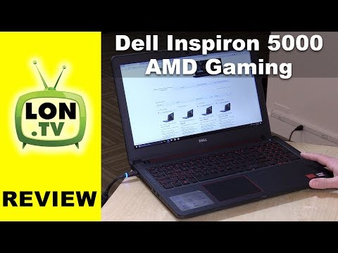 New 2017 Dell Inspiron 15 5000 Gaming AMD Powered Laptop Review