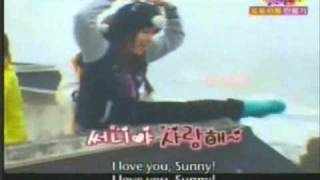 4 Minutes hyuna and SNSD sunny funny moment....