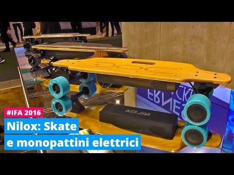 Mobilità elettrica per Nilox a IFA, anche con lo skateboard| Hardware Upgrade