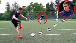 MINIMINTER VS PRO GOALKEEPER!