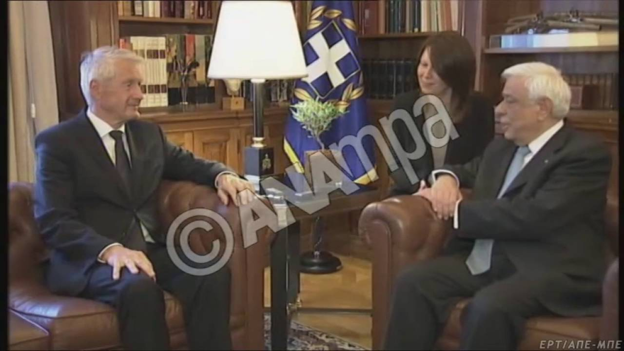 Συνάντηση Π.Παυλόπουλου με Thorbjorn Jagland