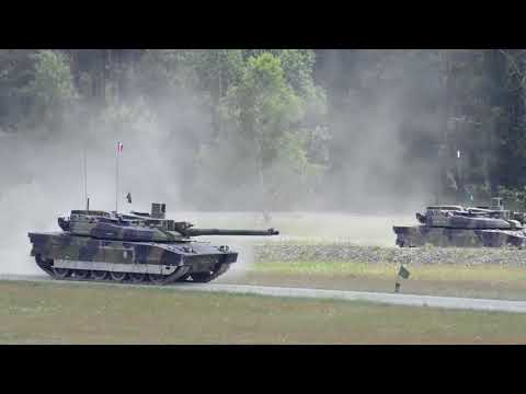 DFN:Strong Europe Tank Challenge Offensive Operations with French and Austrian Soldiers, BY, GERMANY