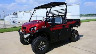 5. $14,999:  The New 2018 Kawasaki Mule Pro FXR Candy Persimmon Red Overview and Review
