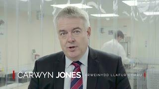 Darllediad Gwleidyddol Llafur Cymru efo Arweinydd Llafur Cymru, Carwyn Jones. Gyda'n Gilydd dros Gymru.