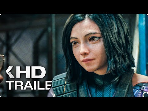 ALITA: Battle Angel All Clips & Trailers (2019)