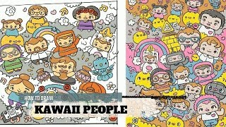 How To Draw Kawaii People by Garbi KW