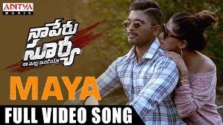 Video Maya Full Video Song | Naa Peru Surya Naa Illu India Songs | Allu Arjun, Anu Emannuel MP3, 3GP, MP4, WEBM, AVI, FLV September 2018