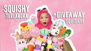 Video Squishy Terlangka Di Indonesia + GIVEAWAY SQUISHY! - Squishy Collection | Gen Halilintar MP3, 3GP, MP4, WEBM, AVI, FLV Desember 2017