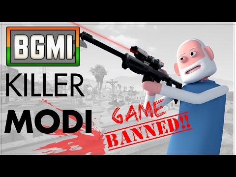 PUBG Killer Modi | पब जी किलर मोदी | Pubg Banned in India | Goofy Works | Comedy toons