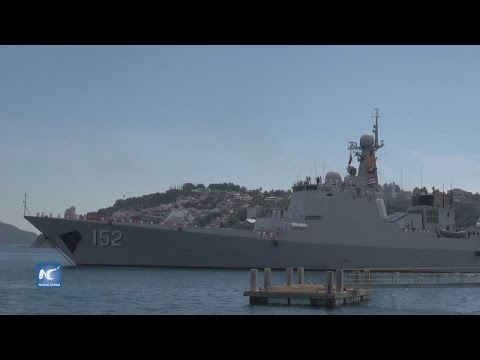 Chinese naval flotilla visits Mexico for friendly exchange