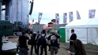 Iron Maiden - Backstage but where do we go?
