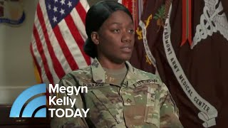 Video Shamika Burrage: The Soldier Who Lost An Ear And Grew A New One In Her Arm | Megyn Kelly TODAY MP3, 3GP, MP4, WEBM, AVI, FLV Oktober 2018