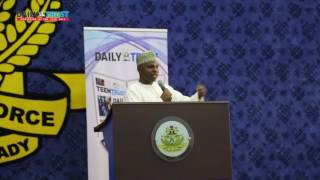 #DailyTrustDialogue : Vote of thanks - Mannir Dan-Ali CEO/Editor-in-Chief, Daily Trust