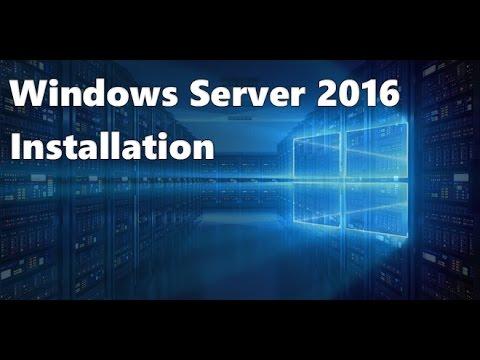 Windows Server 2016 : Présentation et Installation
