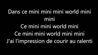 Indila- Mini World- Paroles