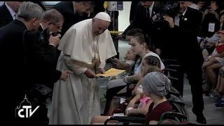 El Papa Francisco en el Hospital Universitario Infantil de Cracovia