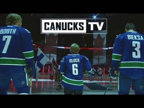 every - CLICK HERE for Matthew's story: http://canucks.nhl.com/club/news.htm?id=708421 Matthew Block joined the Vancouver Canucks on the ice on February 26th as winn...