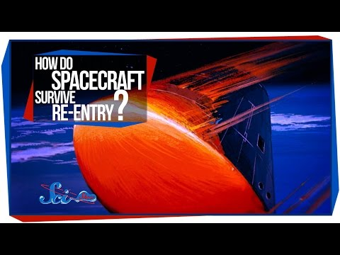 re - How do spacecraft survive the enormous heat and crushing g's of re-entry? And why don't astronauts actually land in rockets, like they do in cartoons and comic books? SciShow Space explains!...