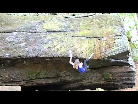 Steph climbs The Mentalist