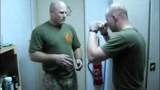 Marine Neck Chop Knockout