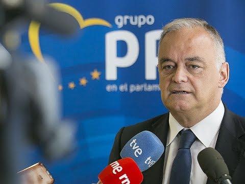 """González Pons: """"si España se rompe por Cataluña, una fila de fichas de dominó la seguirá por todo el continente"""""""