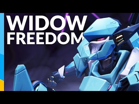 Too much FREEDOM for Widowmaker | Overwatch: Competitive