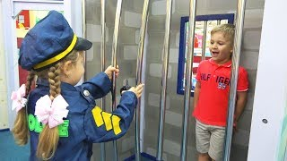 Diana pretend play Professions for kids, Story in the Children's museum