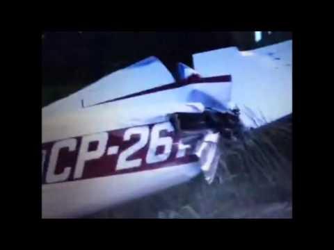 Avião  com drogas, munições e carregadores de fuzis encontrado em Porto Murtinho