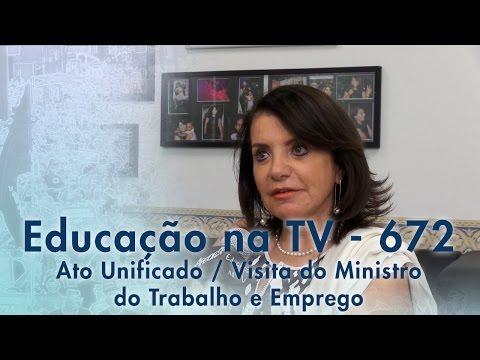 Ato Unificado - Visita do Ministro do Trabalho e Emprego