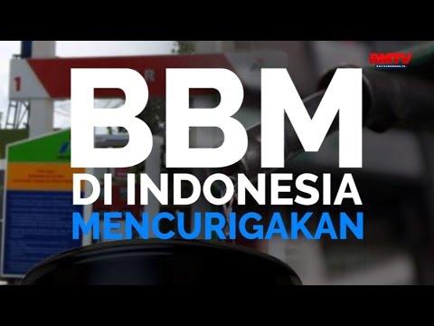 BBM Di Indonesia Mencurigakan