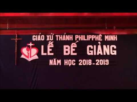 Lễ Bế Giảng Các lớp Việt Ngữ và Giáo Lý năm học 2018-2019-GXTM