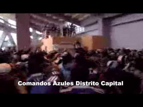 Comandos Azules Millonarios  Vs  Naciomal - Comandos Azules - Millonarios