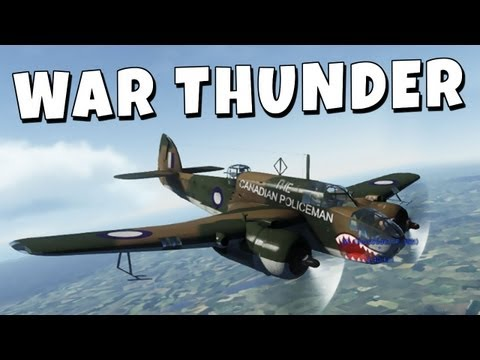 Robbaz - War Thunder - The Canadian Policeman