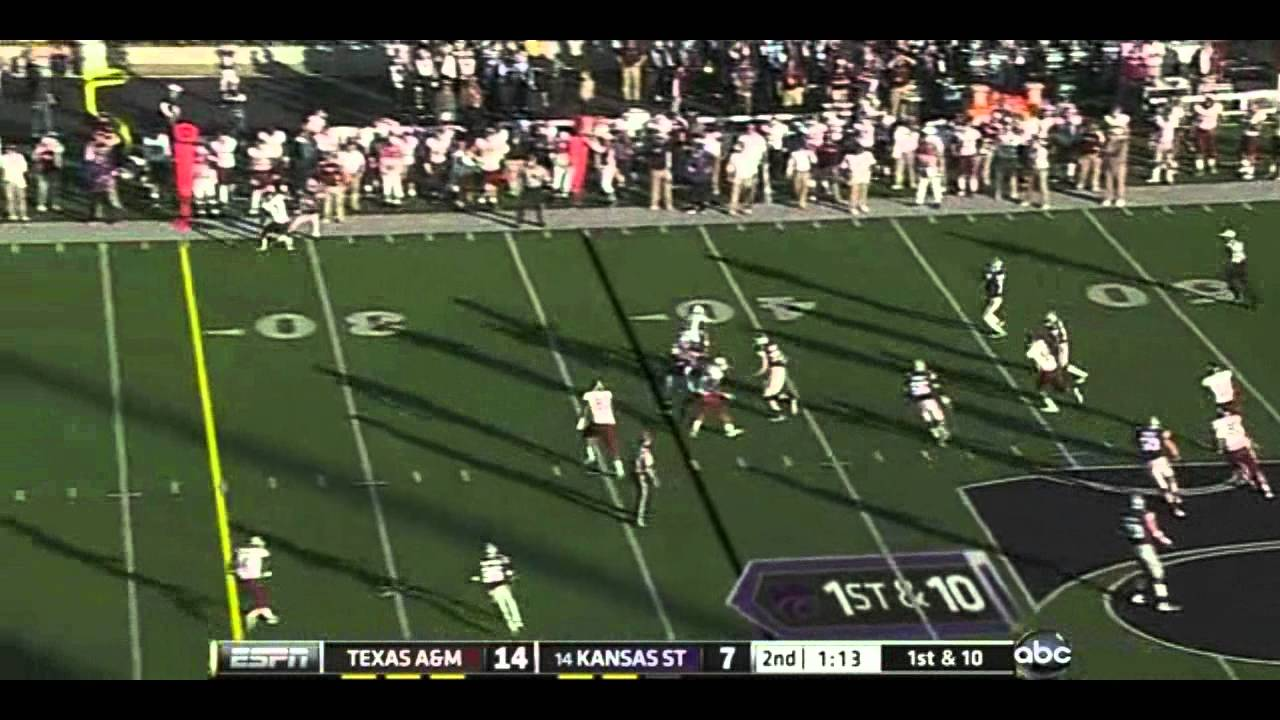 Damontre Moore vs Kansas State (2011)