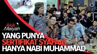 Video Cak Nun: Yang Punya Sertifikat Syafaat Hanya Nabi Muhammad MP3, 3GP, MP4, WEBM, AVI, FLV April 2019
