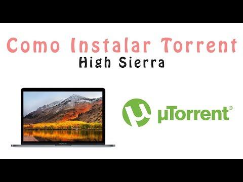 NOVO!! Como Instalar Torrent Mac OS High Sierra