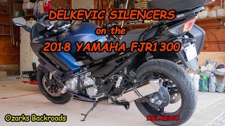 6. Delkevic Exhaust on the 2018 Yamaha FJR1300