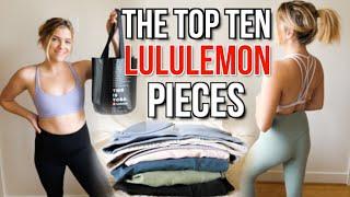 HUGE Lululemon Haul & Collection by Monica Church