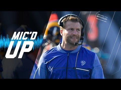 Video: Sean McVay Mic'd Up vs. 49ers
