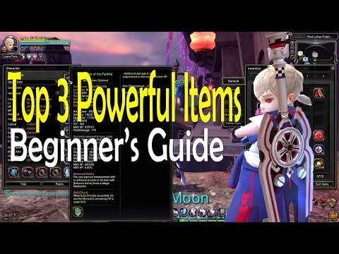 Dragon Nest SEA - Top 3 Over Powered items - Guide for Beginners