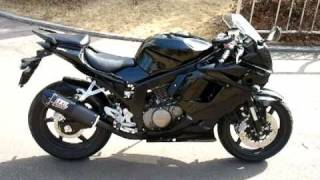 9. Hyosung GT250R EFI walkaround and start up 효성코멧