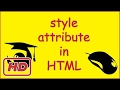 Download Video [Javascript Tutorial] HTML attribute style tutorial ( inline styling vs css )