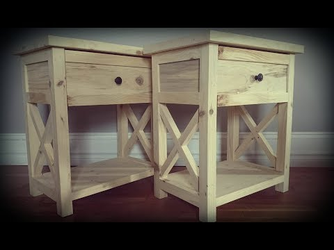 Bedside table build